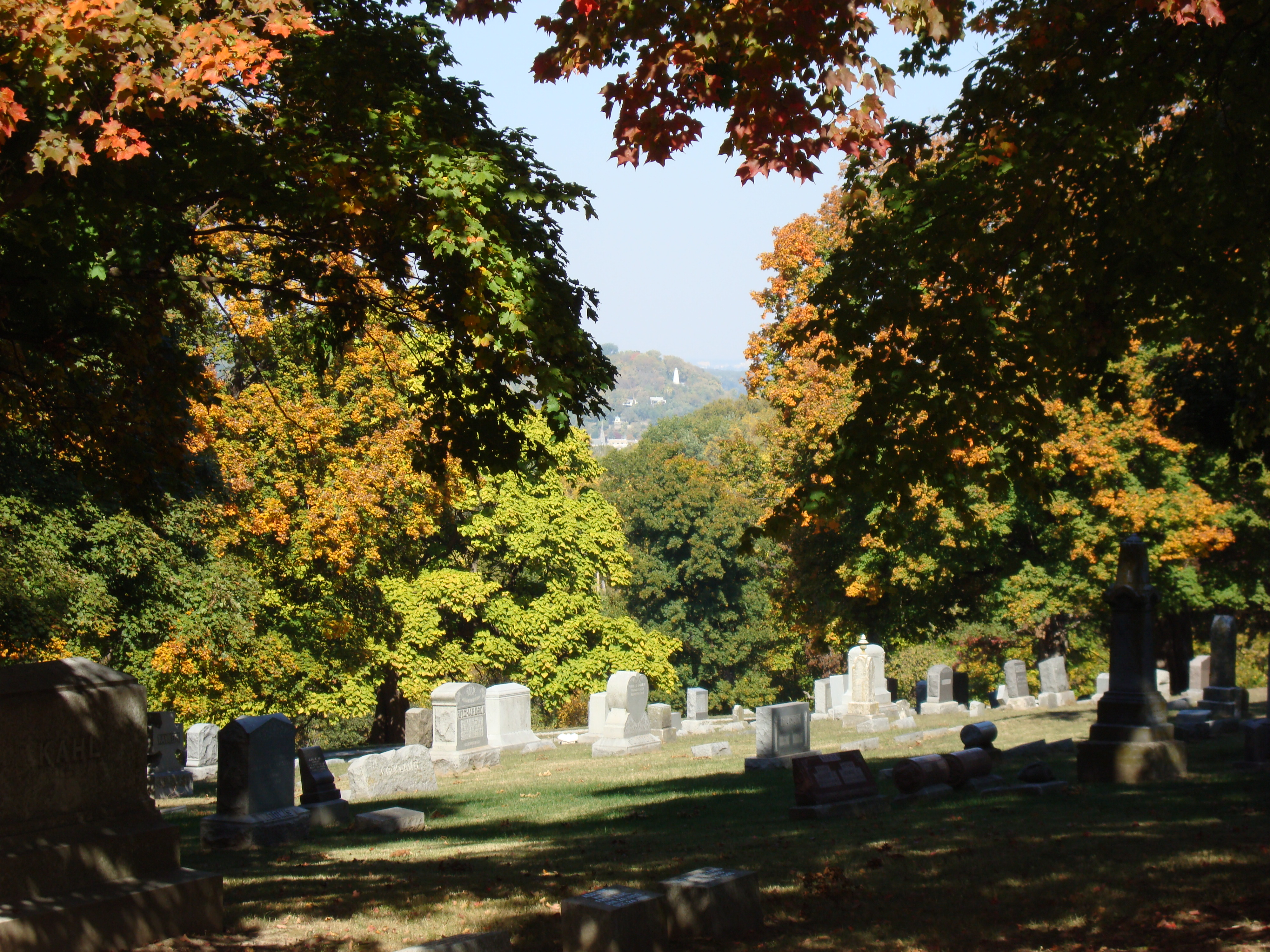 services mount olivet cemetery association